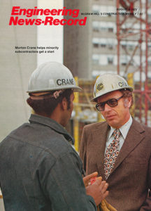 mort on cover of eng news record