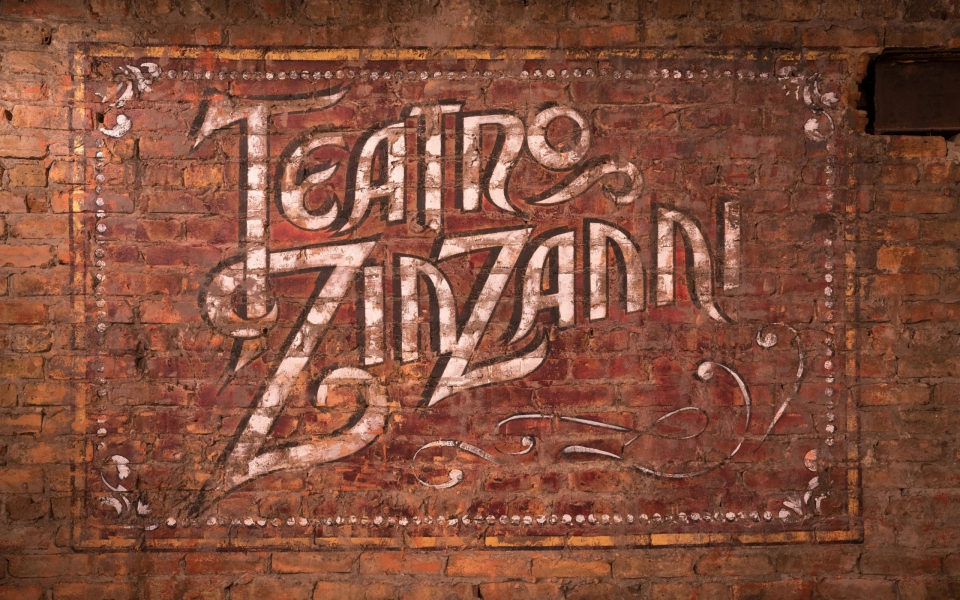 Teatro ZinZanni Chicago lobby. Photo by Alabastro Photography.