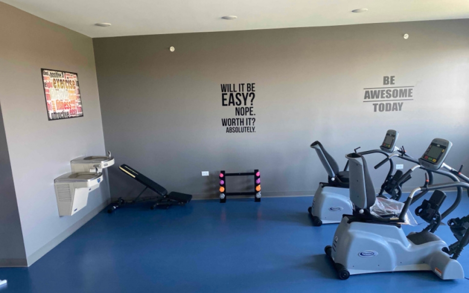 Anthony Place St Charles Workout Room