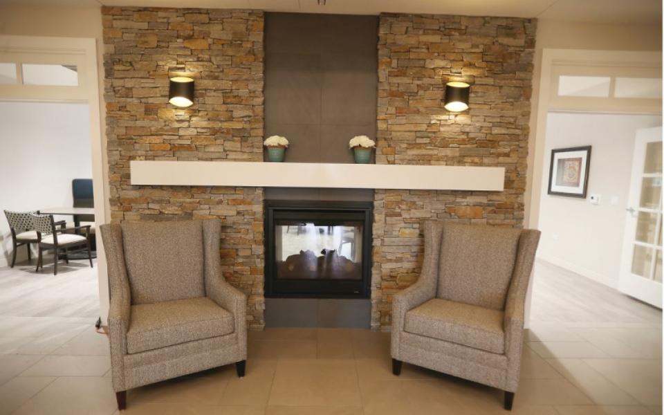 Anthony Place Yorkville Fireplace