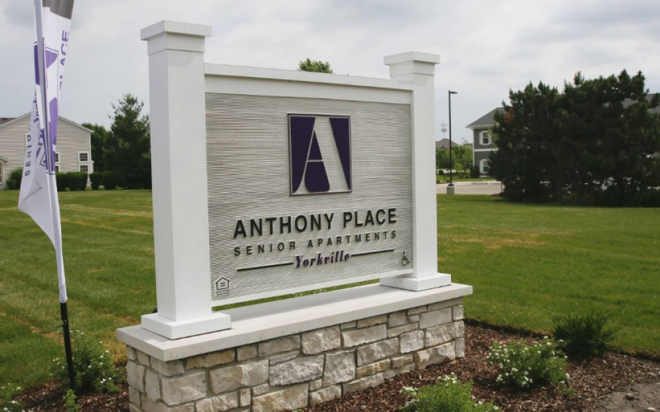 Anthony Place Yorkville Sign